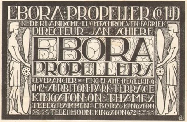 Advertentie Ebora Propellors