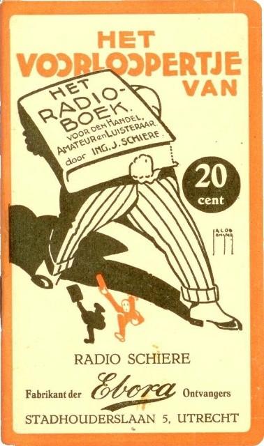 Het Voorloopertje van het radioboek voor den Handel