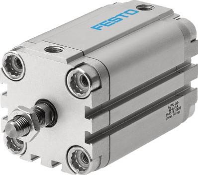 156666, ADVU-100-25-A-P-A Compacte Cilinder