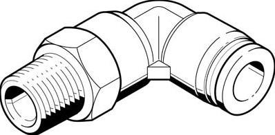 132128, QSL-B-1/4-12-20 L-Insteekschroefkoppeling