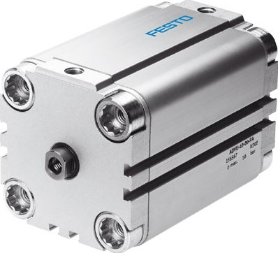 156577, ADVU-100-10-P-A Compacte Cilinder