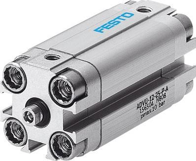 156501, ADVU-12-10-P-A Compacte Cilinder