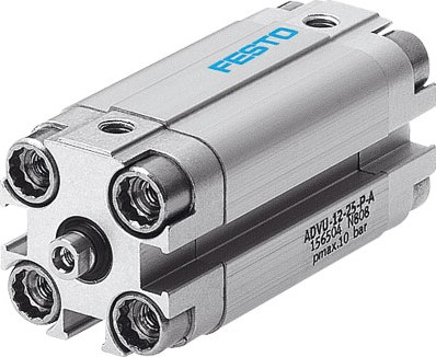 156525, ADVU-25-20-P-A Compacte Cilinder