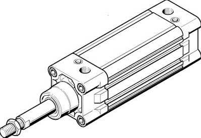 163412, DNC-63-500-PPV-A Normcilinder