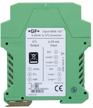 159000967, 3-8058-2 Signeti-Go8058SignalConverterTwoinputDINrailmount