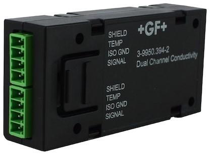GF 9950 Dubbelkanaals geleidbaarheid / weerstand module