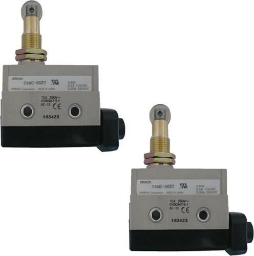 EBWGS-LS-MO-02/A 2 Mechanische eindschakelaars OPEN/CLOSE max 250VDC 30A