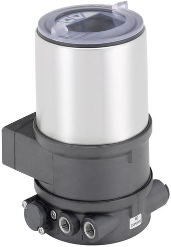 Burkert Digitale elektropneumatische procesregelaar voor geïntegreerde montage op procesregelventielen - Type 8693