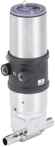 Burkert 2/2-weg membraanafsluiter - Type 2380