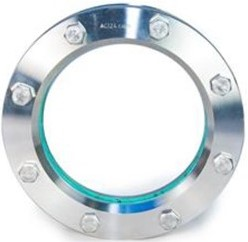 11-318-100-1-1-4-000 Rond inlas/oplas RVS kijkglas 14571/14541 C4400 BORO DN100