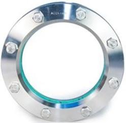 11-318-200-1-1-1-000 Rond inlas/oplas RVS kijkglas 14571/14541-PTFE-BORO DN200