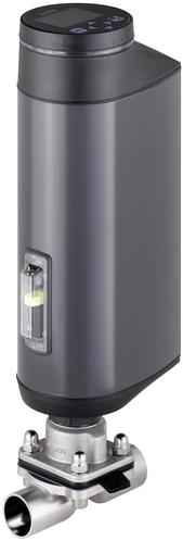 Burkert Elektromotorische 2-weg membraanregelklep - Type 3363