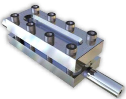 331 Rectangular Sight Glass Level indicator With welding ends