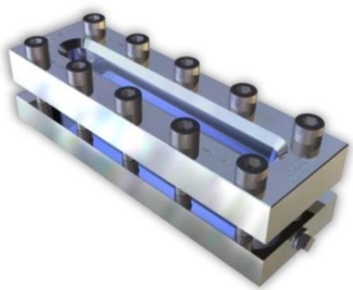 332 Rectangular Sight Glass Level indicator With back bores