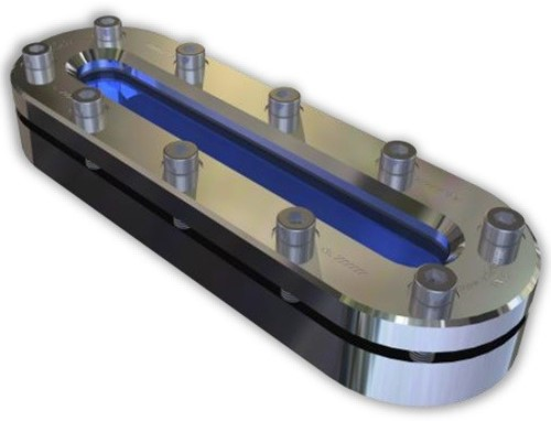 336 Oval tank Sight glass For welding PN6