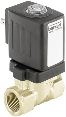 Burkert Servogestuurd magneetventiel 2/2-weg met membraanl - Type 6213