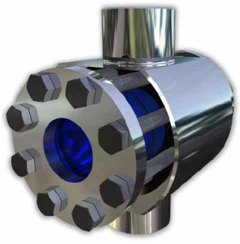 521 High Pressure Sight Glass With welding ends, up to 1000 bar