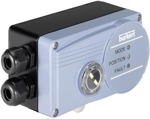 Burkert Digitale elektropneumatische klepstandsteller SideControl - Type 8791