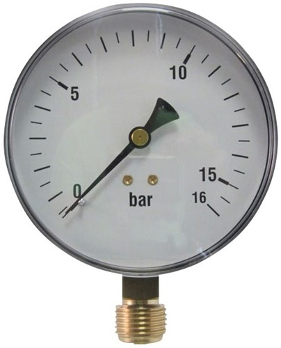 EB208010 MANOMETER 6001 100MM  0-2,5
