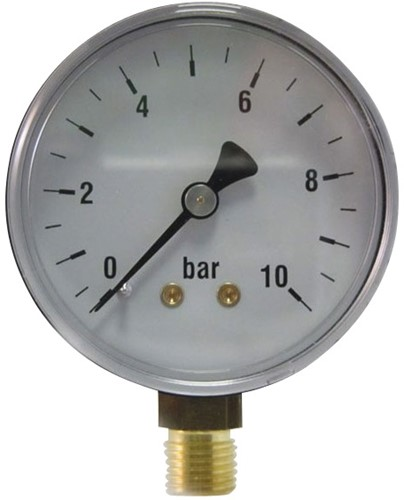 EB206040 MANOMETER 6001  63MM  0-40