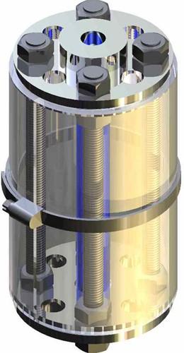 620-DN32-1.4571-C4430+mantel Buiskijkglas met flens