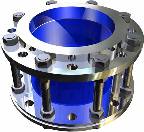 620-DN250-1.4571-EPDM Buiskijkglas met flens