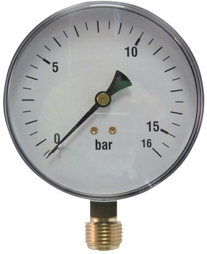 EB240160 MANOMETER 7011 100MM  0-160