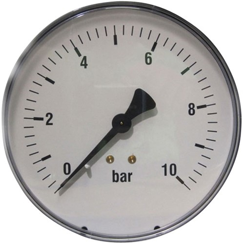 EB249007 MANOMETER 7014 100MM 0-0,6