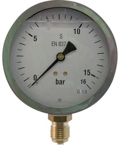 EB255160 MANOMETER 7211 100MM  0-160