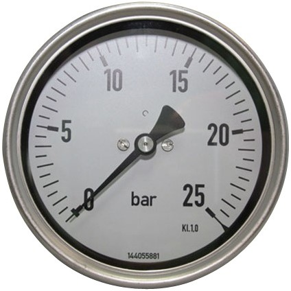 EB261025 MANOMETER 7214 100MM  0-25
