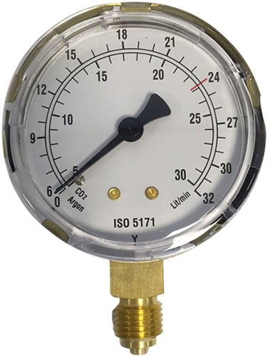 EB290011 MANOMETER 8600 63MM 0-50 l/m