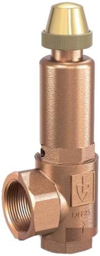 851-sGK-20-f/f-2020-*-**-Ebora Bronzen veiligheidsventiel