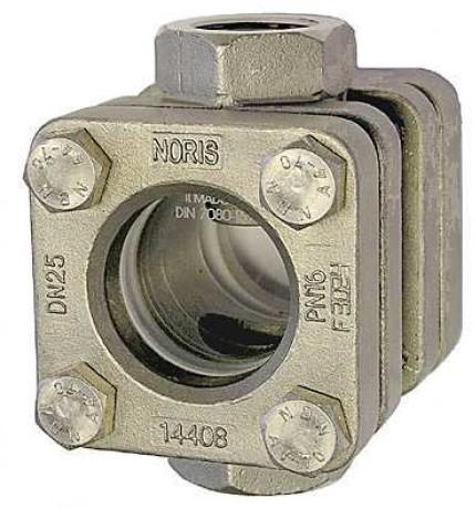 "EB881-RVS-G1 1/2 PN16-B"""" Doorstroom kijkglas"