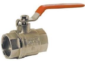 EBCB1110xx Kogelafsluiter, PN30, Messing/PTFE-NBR