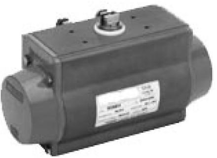 DA52 Pneumatische actuator DA52 dubbelwerkend