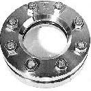 11-319-DN150 special Rond inlas/oplas RVS kijkglas