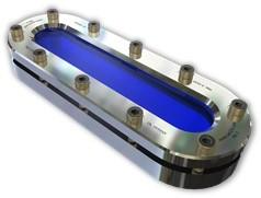11-335-620-2-1-1 Ovaal kijkglas PN3: 620mmx120mm