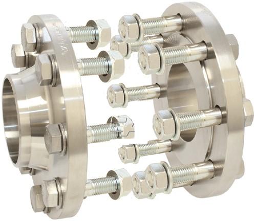 EBFS100306 Montage-set DN40 PN16, RVS 1.4571 tbv kogelkraan EBZP