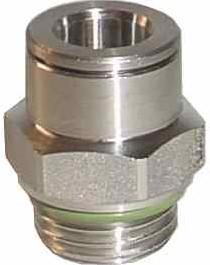 EBIPSO 033 10-3/8 Messing Vernikkeld R. Insteekkoppeling Met terugslagklep