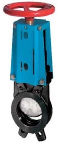 EBWGE-GG-MET-200/MW Plaatafsluiter, GG25/metall, DN200, PN8