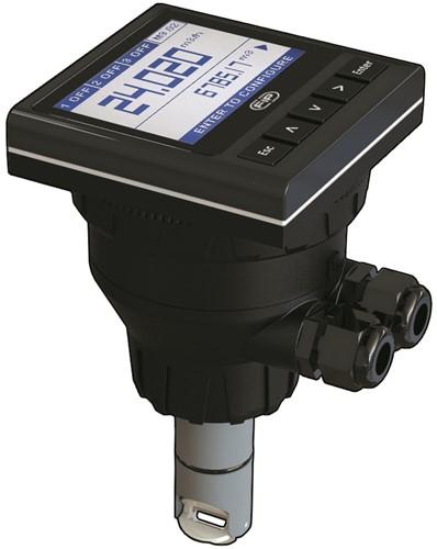M9.20.12 Paddelwiel flowsensor met monitor op batterijen