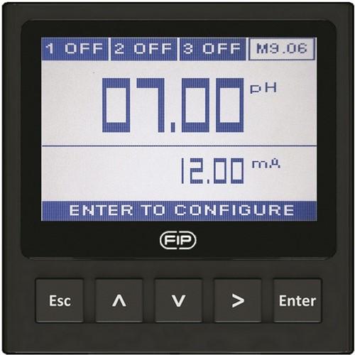 M9.06.P1 pH/ORP monitor en transmitter