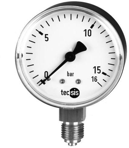 P1410B075001 Manometer 0..10 bar