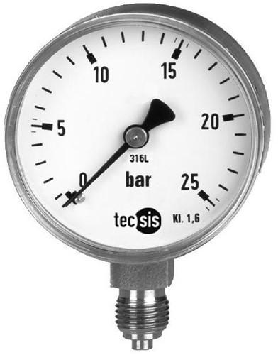 P2030B081001 Manometer 0..100 bar
