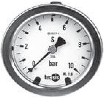 P2033B076001 Manometer 0..16 bar