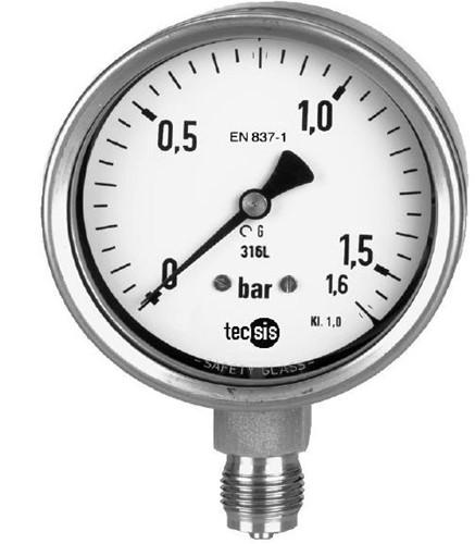 P2324B076001 Manometer 0..16 bar