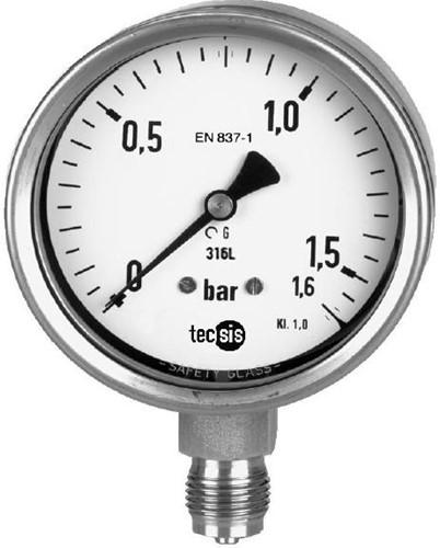 P2325B076001 Manometer 0..16 bar