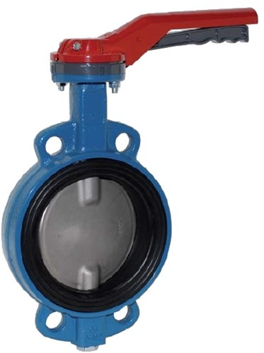 EBWA554016 Vlinderklep DN350, PN10/16, vlg's EN558-20