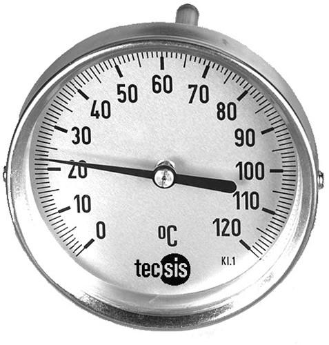 TM208C406001 Bimetaal thermometer 100 mm