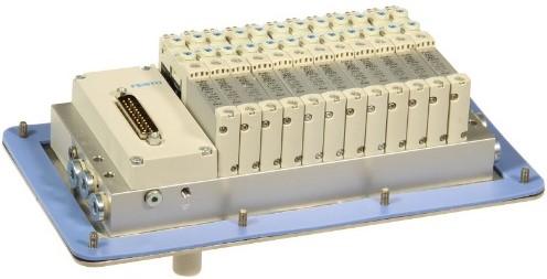 573606, MSDR-B1T-25V20-G18B-DTB-M7SU-12VK+M1TTSC Ventieleiland VTUG-10 met Pneumapole-L MSDR-B1T-25V20-G18B-DTB-M7SU-12VK+M1TTSC